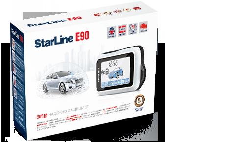 Автосигнализация StarLine E90 телематика