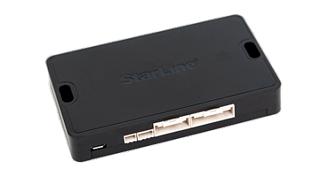 Основной блок с интегрированным 2CAN+4LIN, BT интерфейсом, SIM-чипом МТС+, приемопередатчиком, 3D датчиком удара/наклона/движения